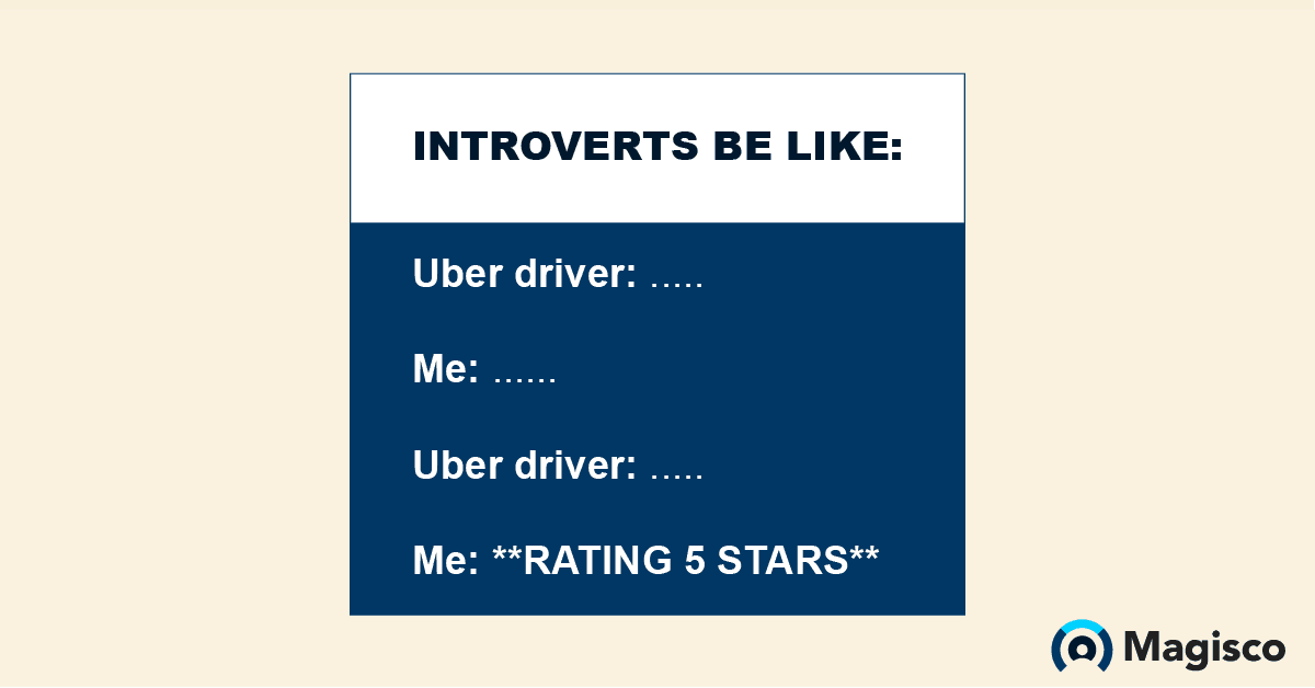 Introverts be like